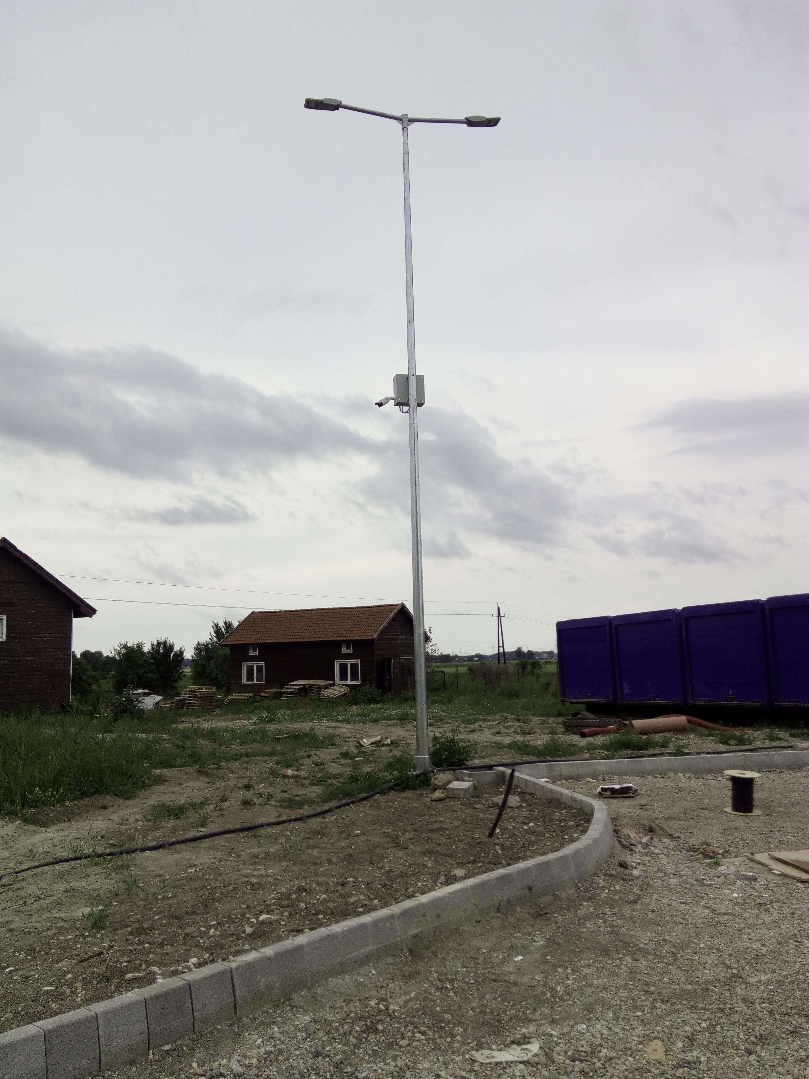 Térfigyelő kamerás rendszer – Landplan Hotel